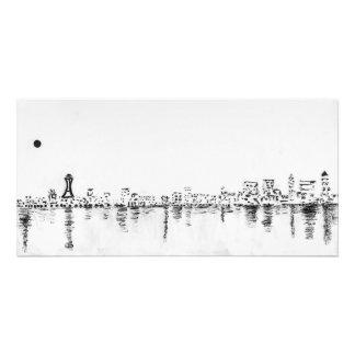 Seattle cityscape photo print