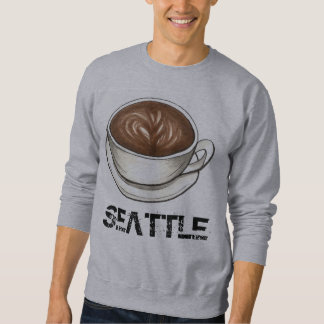 Seattle Coffee Cup Latte Sweatshirt