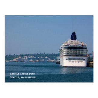 Seattle Cruise Port Postcard