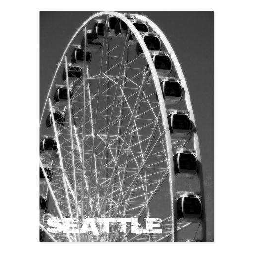 Seattle Ferris Wheel Postcards
