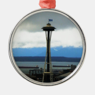 Seattle Football Fan Christmas Ornament