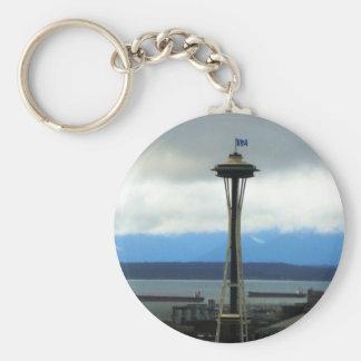 Seattle Football Fan Keychain