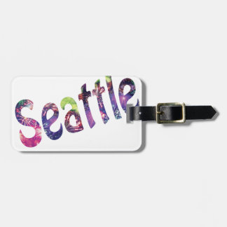 Seattle Fourth of July Luggage Tag
