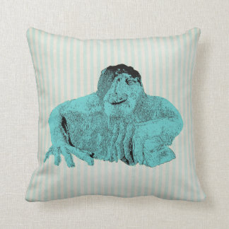 Seattle Fremont Troll 2 sided print Pillow