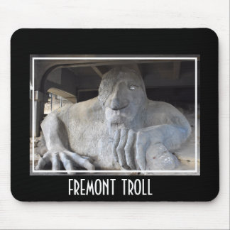 Seattle Fremont Troll Mousepad