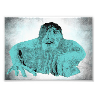 Seattle Fremont Troll Photo Print (various sizes)