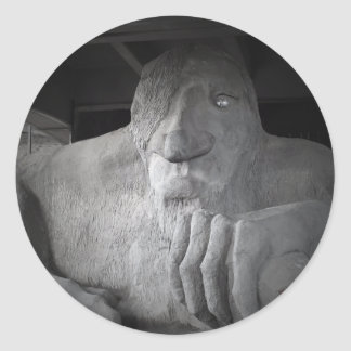 Seattle Fremont Troll Sticker