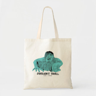 Seattle Fremont Troll Tote Bag