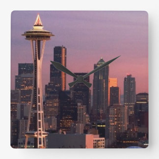 Seattle from Kerry Park. Wall Clocks