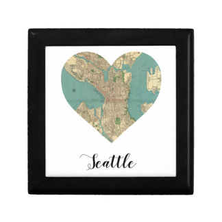 Seattle Heart Map Gift Boxes