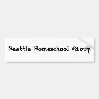 Seattle Homeschool Group Bumper Sticker