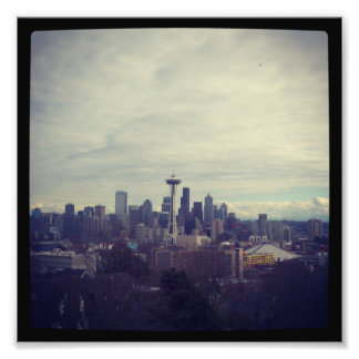 Seattle Landscape Photo Print