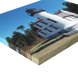 Seattle Lighthouse Wrapped Canvas