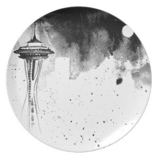 Seattle Mists Plate