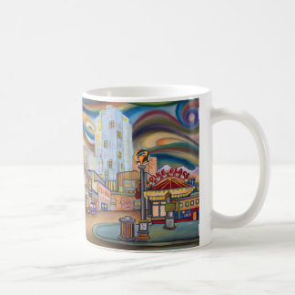 Seattle. Pike Market at night. Coffee Mug