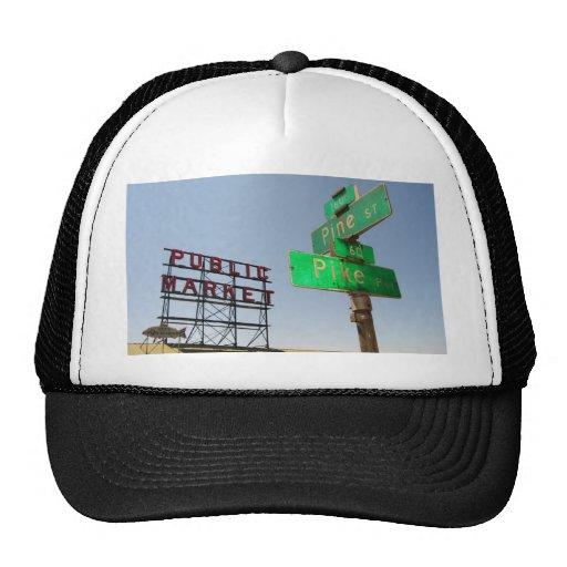 Seattle Pike Place Market Hats