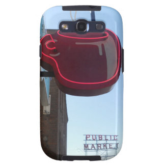 Seattle Pike Place Market Phone Case Galaxy S3 Cover