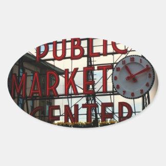 Seattle Pike Place Market Sticker