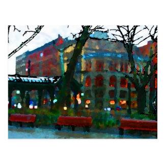 Seattle - Pioneer Square Postcard