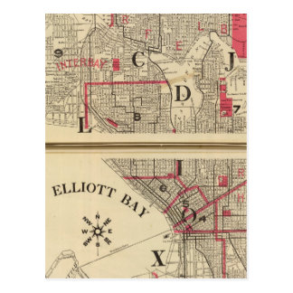 Seattle Postcards