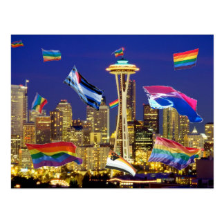 Seattle Pride Postcard