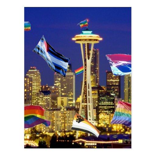 Seattle Pride Post Card
