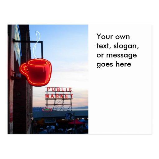 Seattle Public Market Postcards
