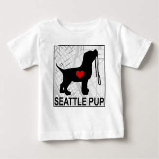 Seattle Pup Toddler T-Shirt White