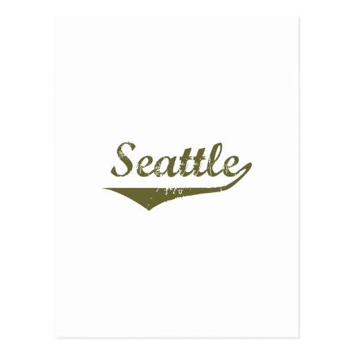 Seattle  Revolution t shirts Postcards