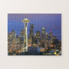 Seattle seen from Kerry Park in Queen Anne Jigsaw Puzzle