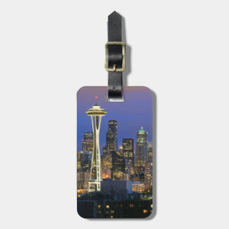 Seattle seen from Kerry Park in Queen Anne Luggage Tag