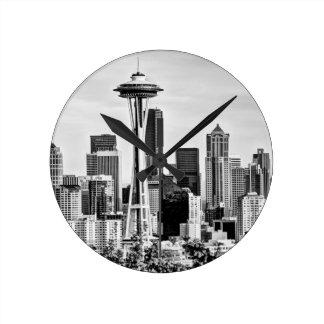 Seattle Skyline Clocks