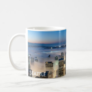 Seattle Skyline Coffe Mug