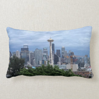 Seattle Skyline Lumbar Pillow