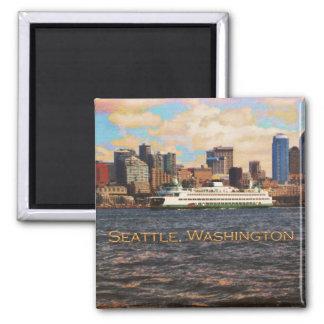 Seattle Skyline Magnet