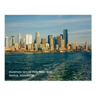 Seattle Skyline Postcard