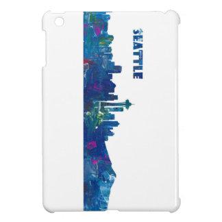 Seattle Skyline Silhouette iPad Mini Case