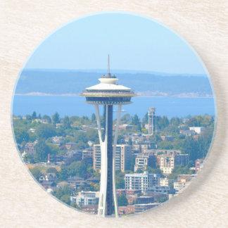 Seattle Skyline Space Needle Coaster