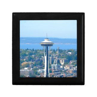 Seattle Skyline Space Needle Gift Box