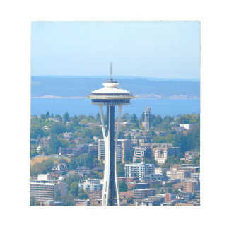 Seattle Skyline Space Needle Notepad