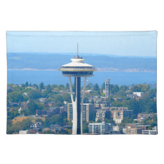 Seattle Skyline Space Needle Placemat