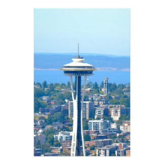 Seattle Skyline Space Needle Stationery