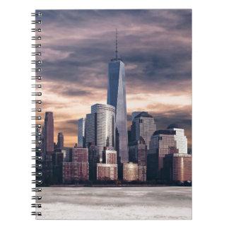Seattle Skyline Spiral Notebook