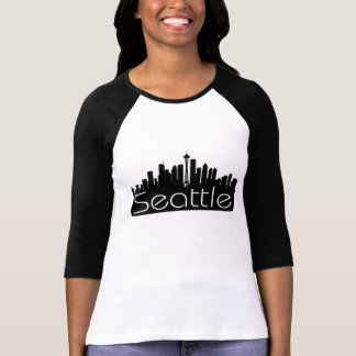 SEATTLE SKYLINE WASHINGTON STATE T-Shirt