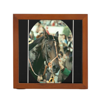 Seattle Slew Thoroughbred 1978 Desk Organizer
