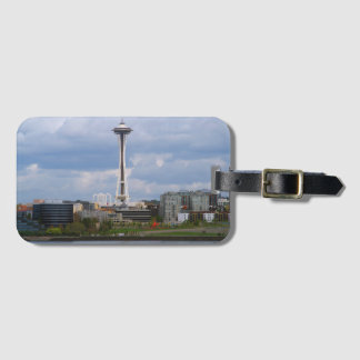 Seattle Space Needle Luggage Tag