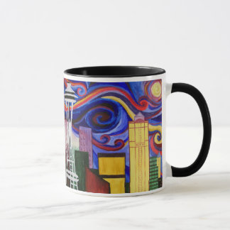 Seattle Swirl Mug