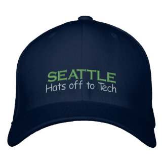 Seattle - the True King of Tech Embroidered Hat