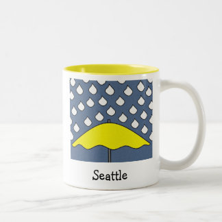 SEATTLE Two-Tone COFFEE MUG