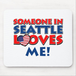 SEATTLE USA designs Mouse Pad